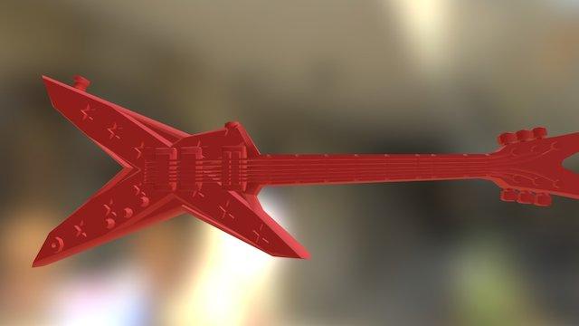 Riffi Raffi's guitar 3D Model