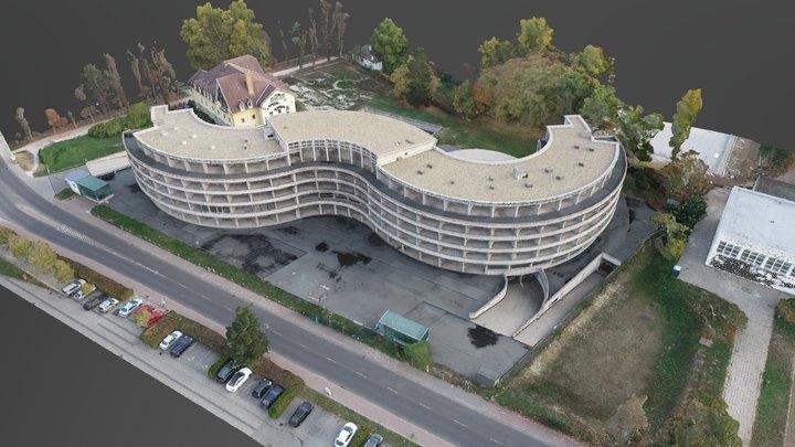 Esztergom Maria Valeria Hotel 3D Model