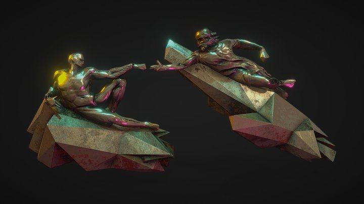 RTJ4 - Retro Remix 3D Model