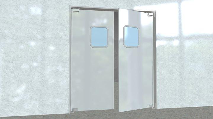 SWINGDOOR LWP-3 3D Model