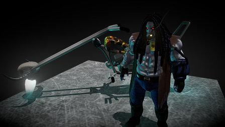 Lobo 3D Model