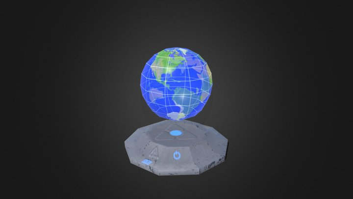 Props - scifi globe 3D Model