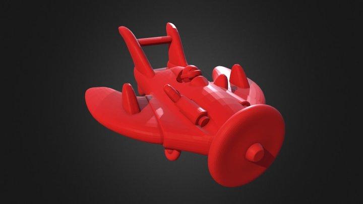 PlaneModel_Daisy 3D Model