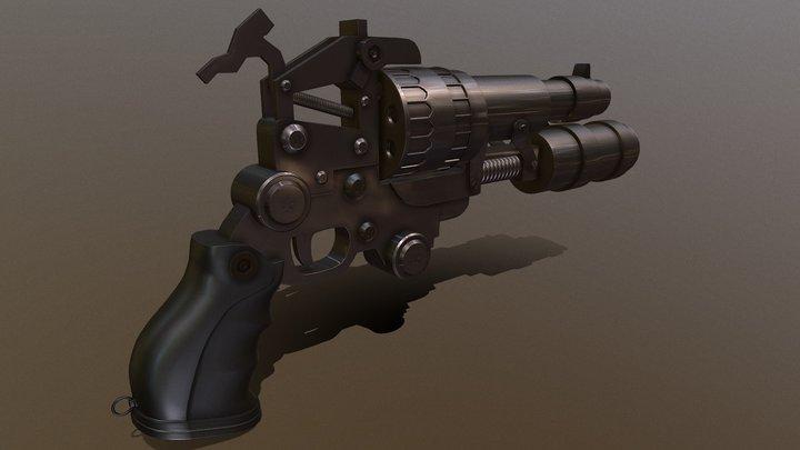 Realistic Revolver | 3D Model of gun 3D Model