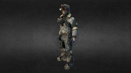Tundra Recon Suit 3D Model