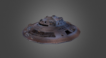 Haunebu 3D Model