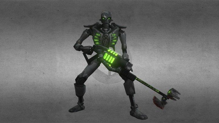 warrior necron 3D Model