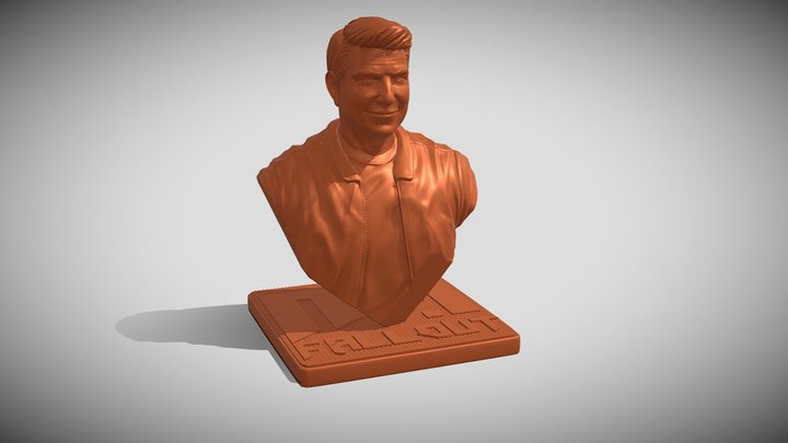 Ethan Mission Impossible Fallout 3D Model