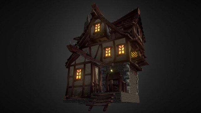Village House (Team Creepy) 3D Model