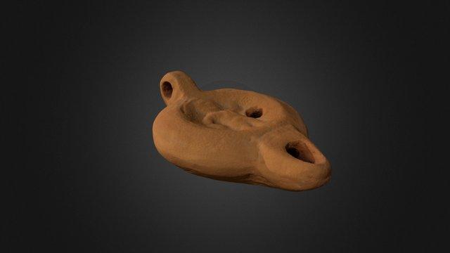 Réplica de lucerna romana 3D Model