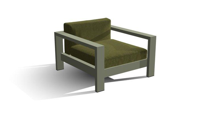 Linia Teide - Fotel 3D Model