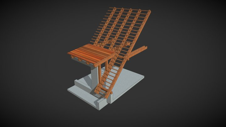 Roof structures 3D Model