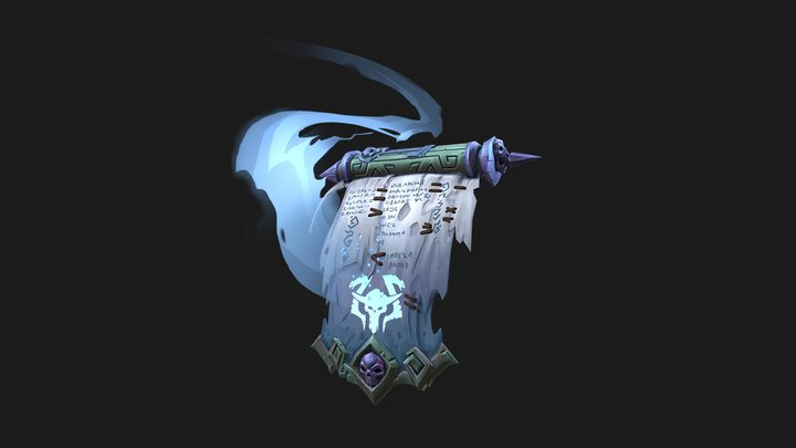 Darksiders Scroll Exercise 3D Model