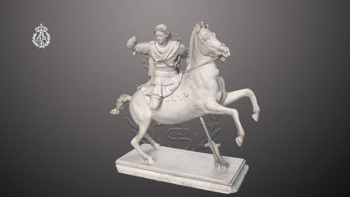Alejandro Magno ecuestre V-255 3D Model