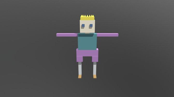 Fight Idle 3D Model