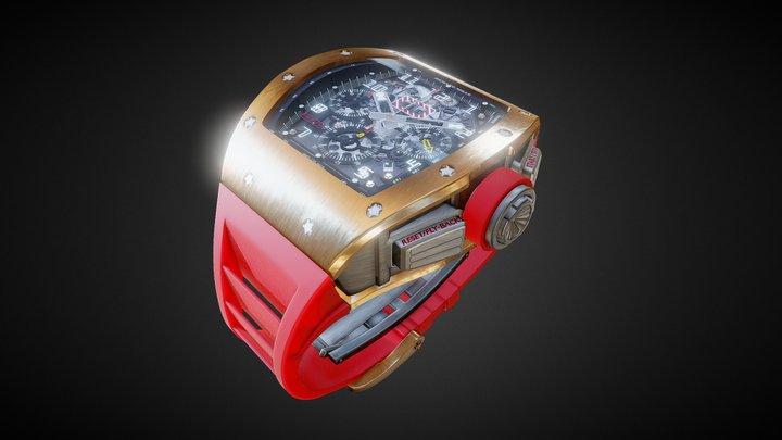 Richard Mille RM11 3D Model
