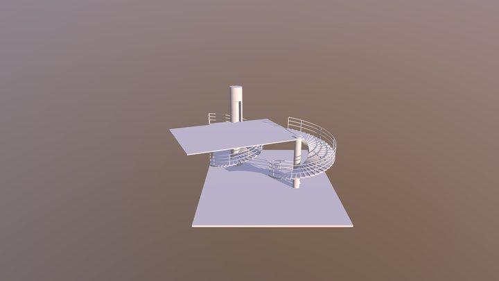 Escalera 3D Model