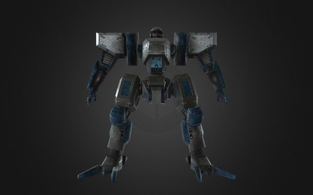 Wanzer 3D Model