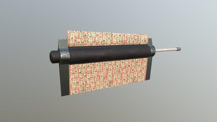 Shibuki Sword - Naruto 3D Model