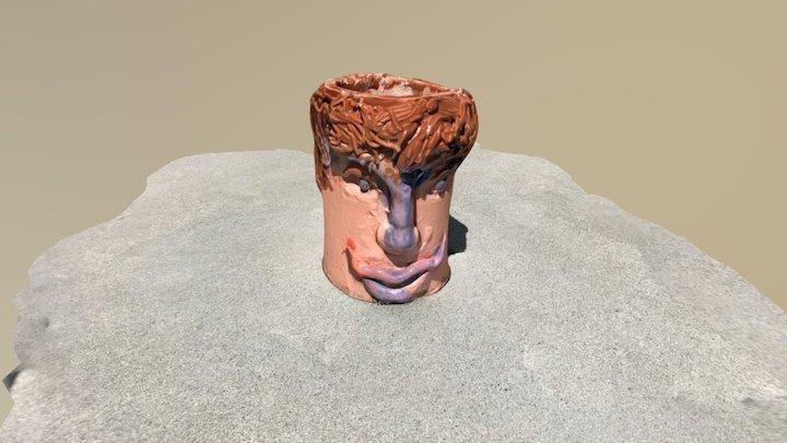 Head Cup 3D Model