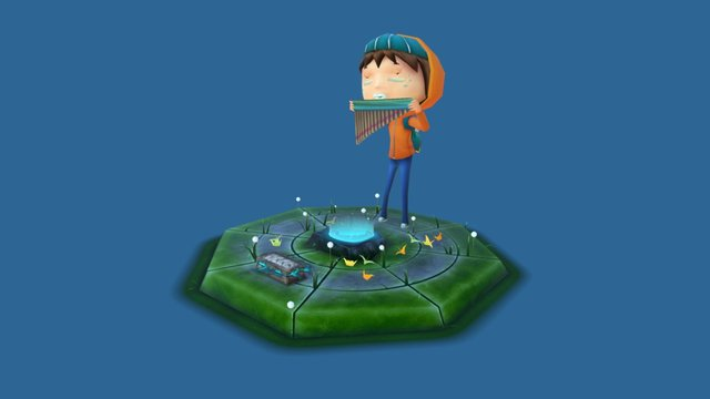 Dreamer 3D Model