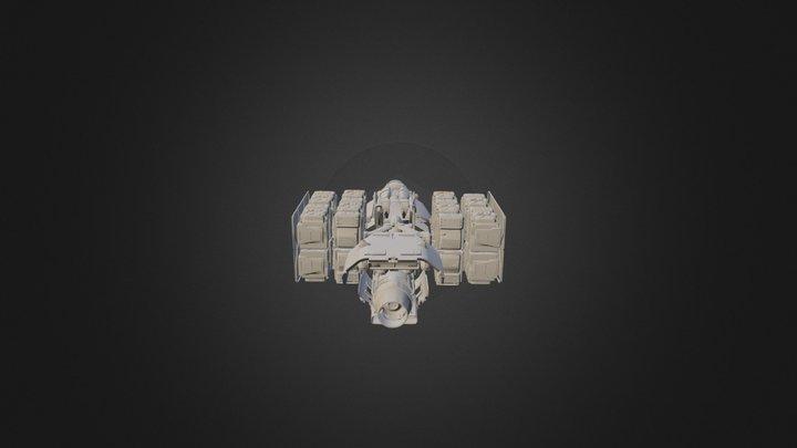 MISC: Hull A 3D Model