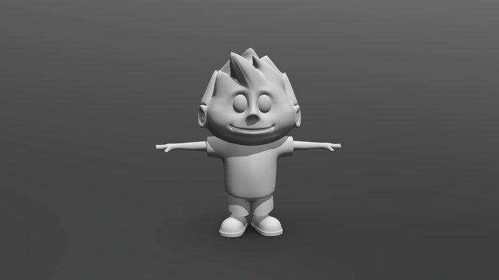 Luke 3D Model