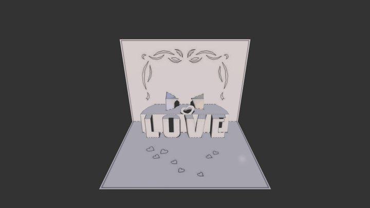 card_valentin1.obj 3D Model