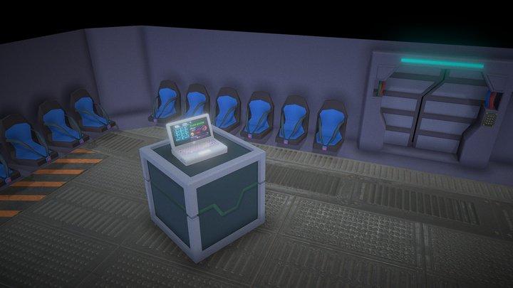 Among us - Lobby 3D 3D Model