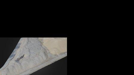 Šķeldas un skaidas krautne / Woodchips stockpile 3D Model