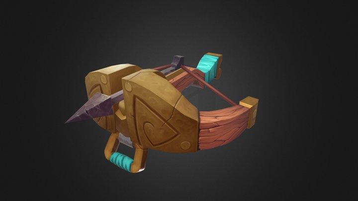 Stylized Crossbow 3D Model