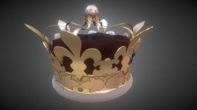 A regal crown 3D Model