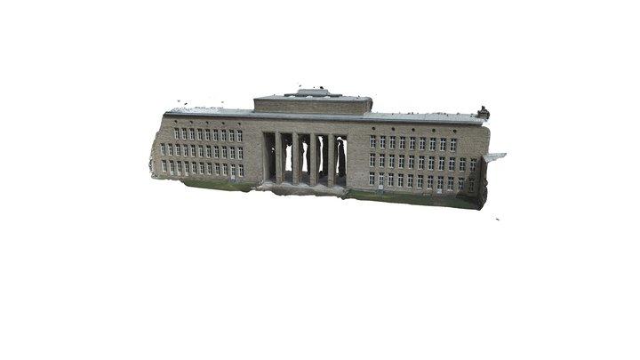 Braunschweigkolleg west facade photogrammetry 3D Model