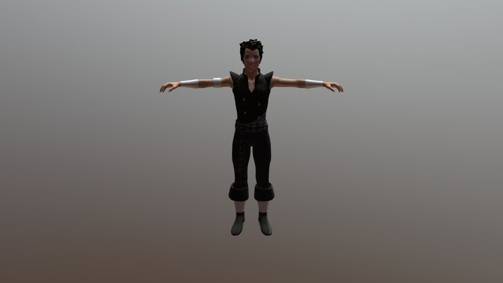 Rabby Game Max 3D Model