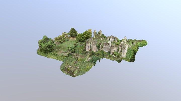 Château de Vaujours 3D Model