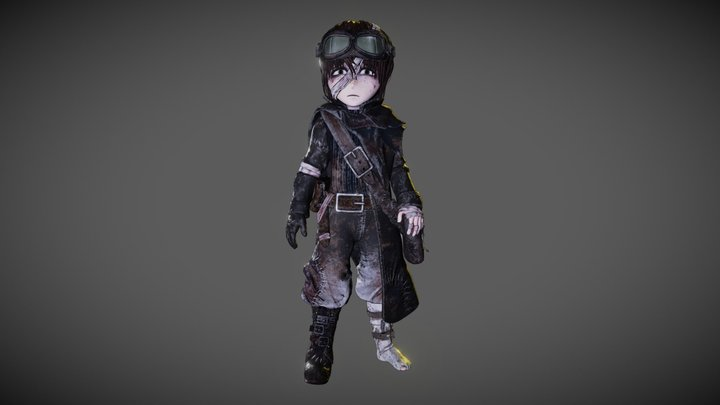 Amako 3D Model