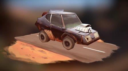 Mad Max - V8 Interceptor 3D Model