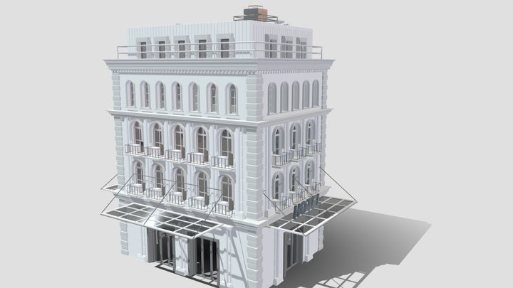 Commercial Building B 1 3D Model