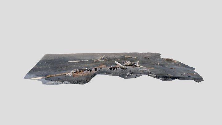 SS Waitangi (Starboard Side)-Pātea 3D Model