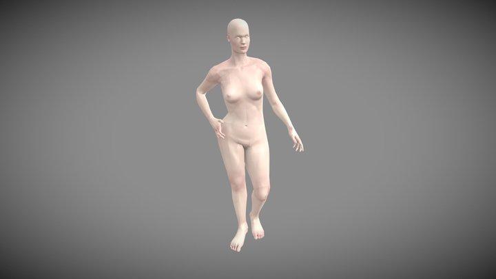 Human Woman (GameRes w skin) 3D Model