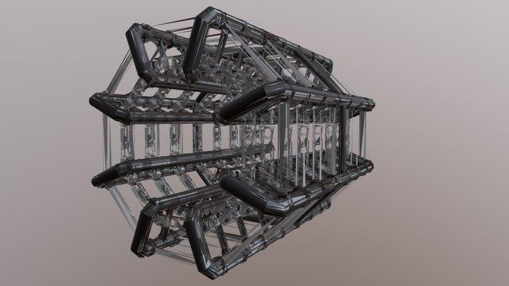 CERN ATLAS Experiment - Detector - Barrel Toroid 3D Model