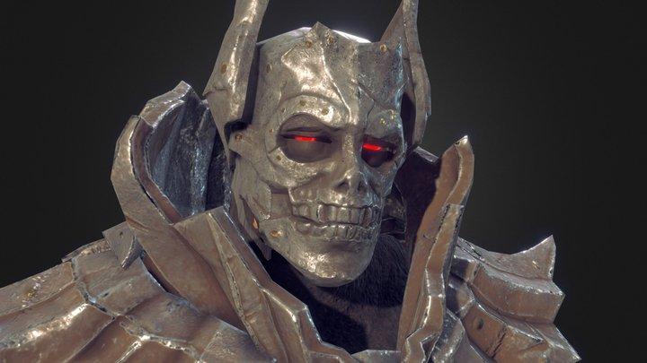 Dark Warrior 3D Model
