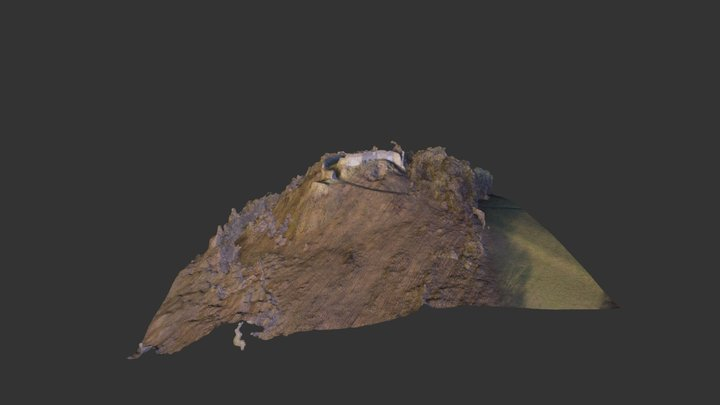 Ruins of a Blansko Castle, near UL 3D Model
