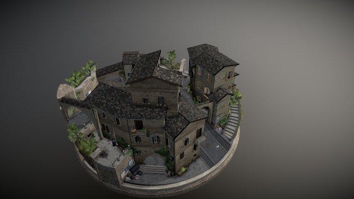 CityScene - Assisi 3D Model