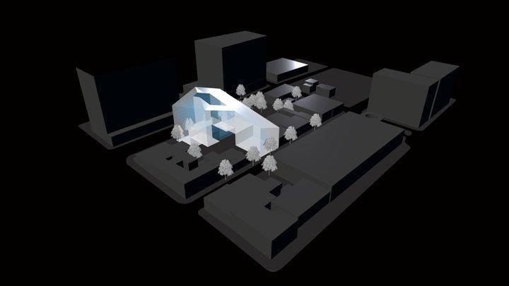 San Pedro - Urban Canopy 3D Model