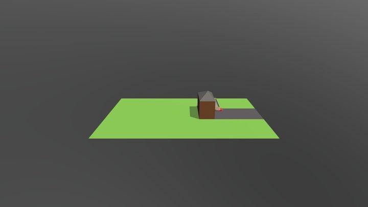 Haus 3 3D Model