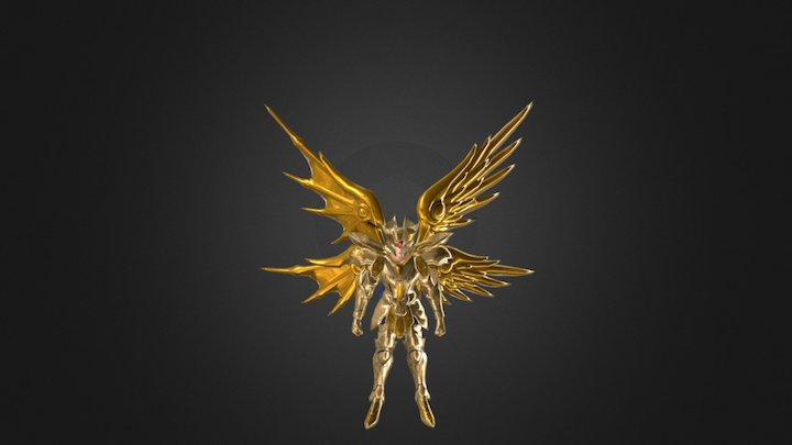 Saint seiya (Saga De Geminis) 3D Model