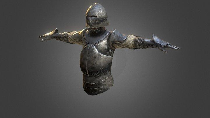 Test Knight 3D Model