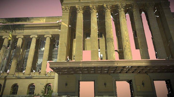 Brisbane City Hall 3D Model
