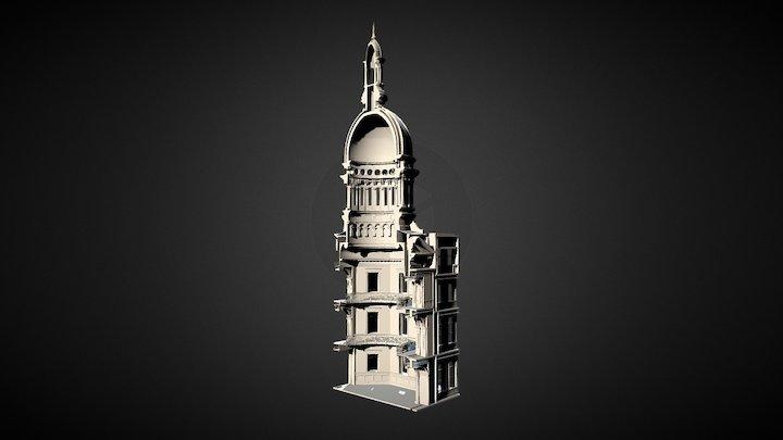 New Jersey State House - Rotunda 3D Model